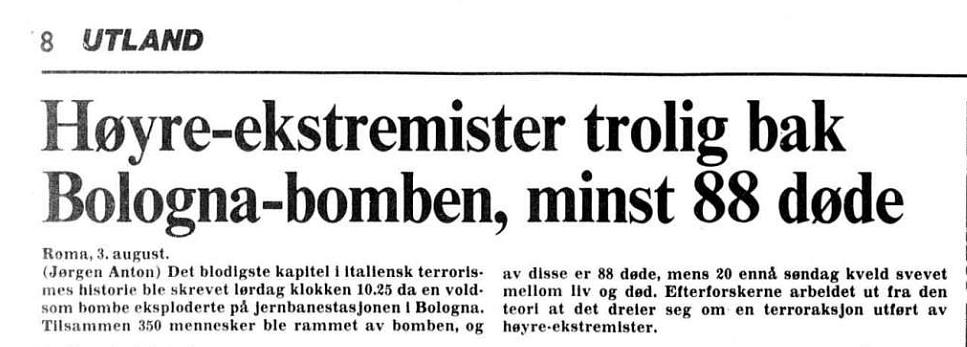 Fra Aftenposten den 4. august 1980