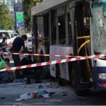 Tel Aviv, buss sprengt av sprengstoff, plassert på forhånd, 21.november 2012, 17 personer skadd, 3 alvorlig.