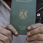 Pass er det ikke vanskelig å skaffe, her et pass fra Egypt.